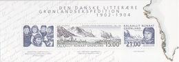 Groenland, Bloc N° 24 (Expéditions Au Groenland, Rasmussen, ...), Neufs ** - Blocs