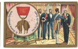 CHROMO ANCIEN  - Médaille Ordre De La TOISON D'OR (ESPAGNE) - Pub Chocolat Guérin-Boutron - Autres