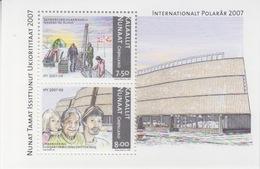 Groenland, Bloc N° 36 (Année Polaire Internationale, Carottage, ...), Neufs ** - Blocs