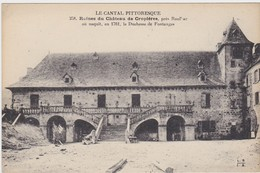 Ruines Du Chateau De Cropieres Près Raulhac - Other Municipalities