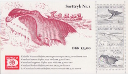 Groenland, Bloc N° 19A (Hafnia 01, Pécheurs De Baleine, Cétacés ...), Neufs ** - Blocs