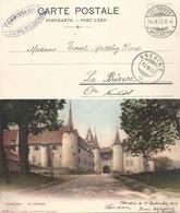 Colombier - Le Château  (Poste De Campagne)           1903 - NE Neuenburg