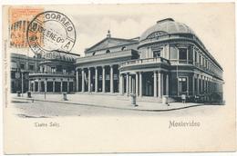 MONTEVIDEO - Teatro Solis - Uruguay