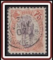 Côte Française Des Somalis 1894-1903 - N° 49 (YT) N° 48 (AM) Oblitéré. - Costa Francesa De Somalia (1894-1967)