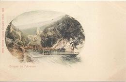 Gorges De L'Areuse - Caillebotis         Ca. 1900 - NE Neuenburg