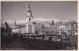 3 Cartes Photo :  Santiago (Chili) Sto Domingo, San Francisco, Vista Area Possibility Paypal - Chili