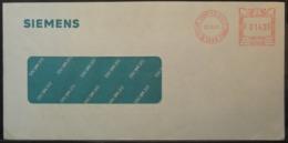 Belgium - Advertising Meter Franking Cover 1991 Sigilles Siemens B7189 - Franking Machines