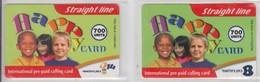 ISRAEL 2007 STRAIGHT LINE BEZEQ INTERNATIONAL HAPPY CARD 700 UNITS - Israel