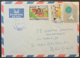 Rwanda - Cover To Belgium 2004 FAO Food Rural Organization - Rwanda