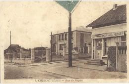 Chennevieres  Rue De Noyon    Epicerie - Sonstige Gemeinden