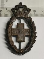 Insigne Belgique, Croix Rouge WW2 1940-1945 - Belgium