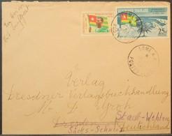 Togo - Readdressed Cover To Germany 1964 Flag - Togo (1960-...)