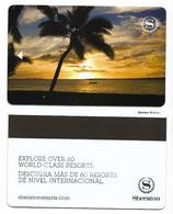 Sheraton Hotels, Used Magnetic Hotel Room Key Card # Sheraton-36b - Cartas De Hotels