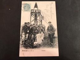 CPA 1900/1920 Hohneck La Frontière Douaniers Et Civils - France