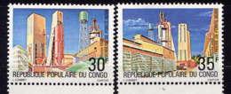 CONGO - 589/590** - VERRERIE DE POINTE-NOIRE - Congo - Brazzaville