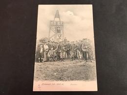 CPA 1900/1920 Hohneck La Frontière Douaniers Attroupement - France