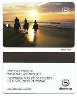 Sheraton Hotels, Used Magnetic Hotel Room Key Card # Sheraton-41b - Cartas De Hotels