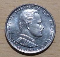 MONACO Rainier III 1 Franc 1960  SUP - 1960-2001 Nouveaux Francs