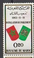 Maroc. Timbre 1963. Yvert Et Tellier N° 468. Installation Du Parlement. - Morocco (1956-...)