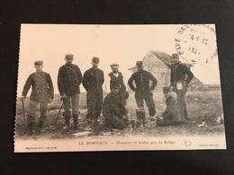 CPA 1900/1920 Le Hohneck Douaniers Et Soldats Près Du Refuge - France
