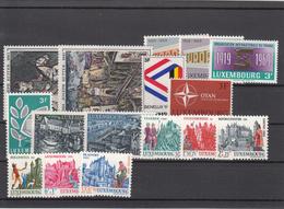 Luxembourg 1969 - Lot MNH ** - Luxemburg