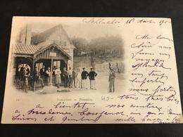 CPA 1900/1920 Schlucht La Frontière Animée - Francia