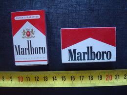 2 Boîtes Complètes ,neuves Marlboro Cow Boy ,marketing 1980 - Cajas De Cerillas (fósforos)