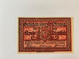 Allemagne Notgeld Depholz 50 Pfennig - 1918-1933: Weimarer Republik
