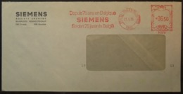 Belgium - Advertising Meter Franking Cover 1975 Sigilles Logo Siemens B2070 - Franking Machines