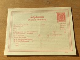 KS3 Österreich Ganzsache Stationery Entier Postal TA 27 - Entiers Postaux