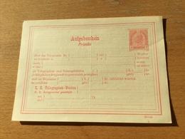 KS3 Österreich Ganzsache Stationery Entier Postal TA 28 - Entiers Postaux