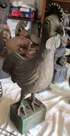 Haan In Brons (Oorsprong Benin) - Art Africain