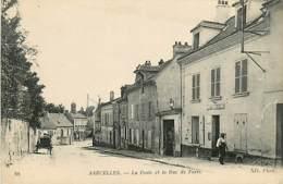 95* SARCELLES La Poste Et Rue De Paris   MA106,0972 - Sarcelles