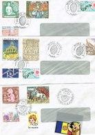 TIMBRES  Dans  6  Enveloppes MUSEE POSTAL Paris  1979 - Unclassified