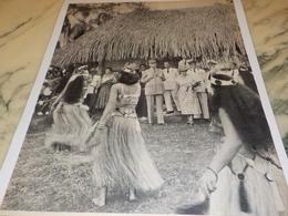 PHOTO DU GENERAL DE GAULE A TAHITI 1956 - Fotografia