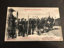 CPA 1900/1920 La Schlucht Raid Des Skieurs De La 4 ° Division 20 Mars 1908 - Gerardmer