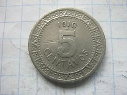 Mexico , 5 Centavos 1910 - Mexico