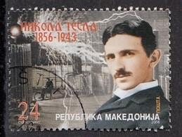 MACEDONIA 394,used,Nikola Tesla - Macedonia