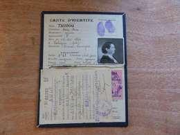 VP-3  ,   Carte D'Identité, Mireval, Aude, 1943 - Historical Documents