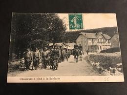 CPA 1900/1920 Chasseurs à Pied à La Schlucht - Gerardmer