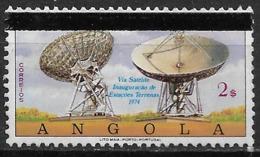 Angola – 1981 Telecom Day Overprinted - Angola