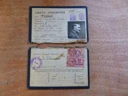 VP-4  ,   Carte D'Identité, Mireval, Aude, 1943 - Historical Documents