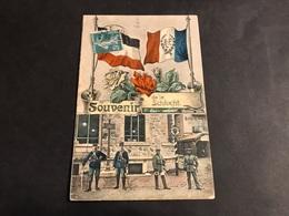 CPA 1900/1920 Souvenir De La Schlucht Les Douaniers - Gerardmer