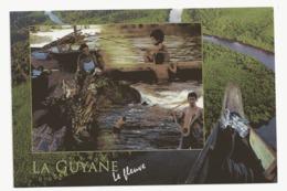 AJ110 Guyane Le Fleuve (multivues Ethnique ) - Cayenne