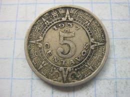 Mexico , 5 Centavos 1937 - Mexico