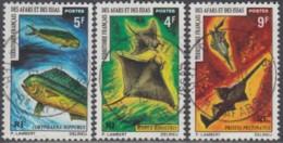 Afars Et Issas (Territoire Des) - N° 372 à 374 (YT) Oblitérés. Belles Oblitérations De Djibouti. - Afars Y Issas (1967-1977)
