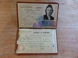 VP-8  , Carte D'Identité, Béziers , 1944 - Historical Documents