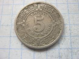Mexico , 5 Centavos 1940 - Mexico