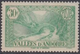 Andorre Français - N° 32 (YT) Neuf *. - Andorra Francesa