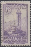 Andorre Français - N° 37 (YT) Oblitéré. - Andorra Francesa